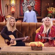 Lady Gaga performs 'Smelly Cat' with Lisa Kudrow